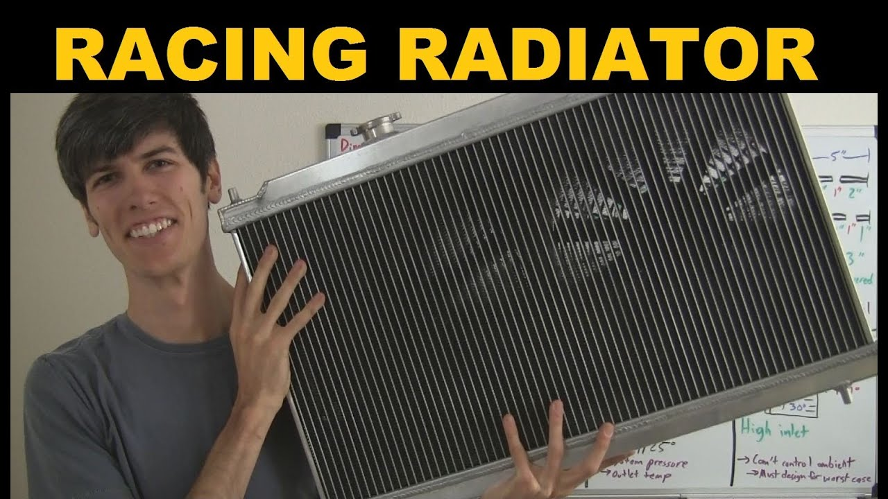 Design of a car radiator - Performance Radiator Explained