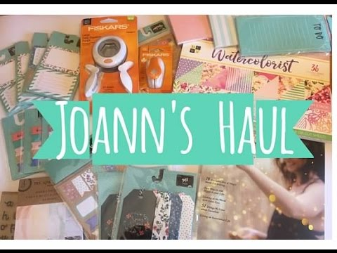 Joann's Haul || New $1.50 items, Paper Pad & More!