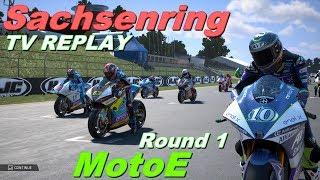 MotoE Sachsenring 2019 | Championship #1 | TV REPLAY | MotoGP 19 PC GAME