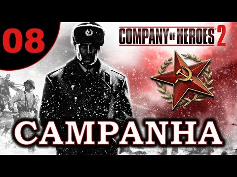 Company of Heroes 2 - Campanha Soviética #08 (VAMOS JOGAR) Stalingrad Aftermath Pt1 [PT-BR]
