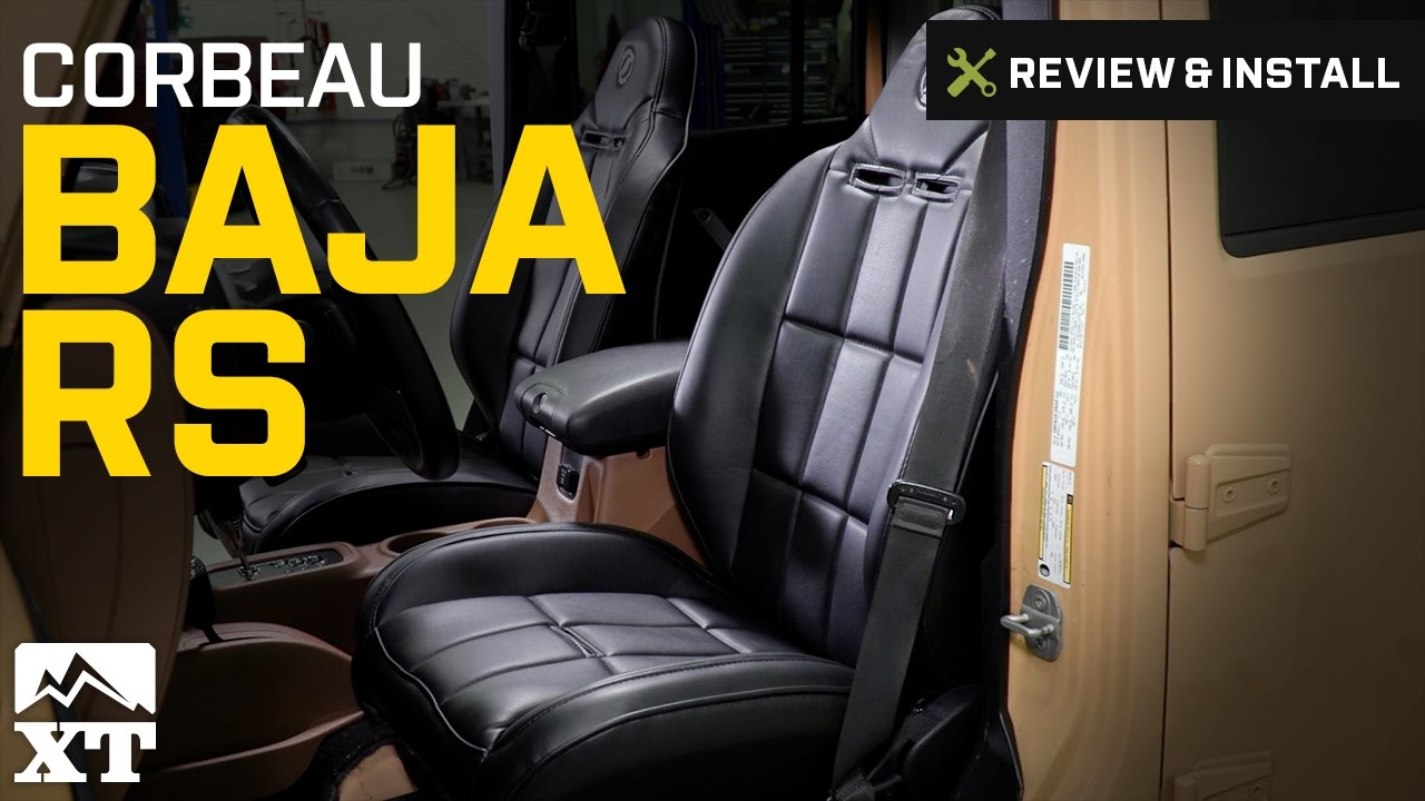Jeep Wrangler Corbeau Baja RS (87-17 Wrangler YJ, TJ & JK) Review & Install