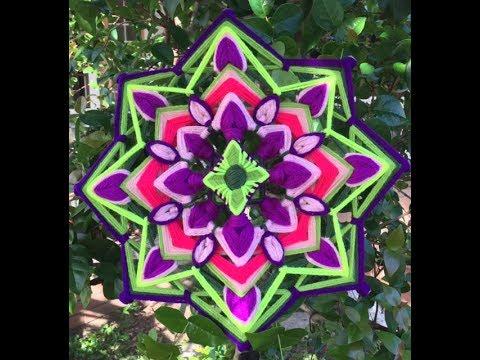 Mandala jard n lavanda youtube for Jardin mandala