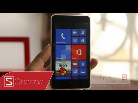 Schannel - Đánh giá chi tiết màn hình, camera, hiệu năng....Nokia Lumia 625 - CellphoneS