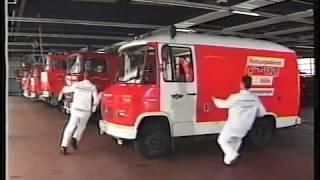 German fire service Cologne 1990s