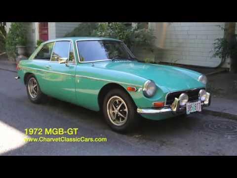 1972 mgb gt charvet classic cars youtube. Black Bedroom Furniture Sets. Home Design Ideas