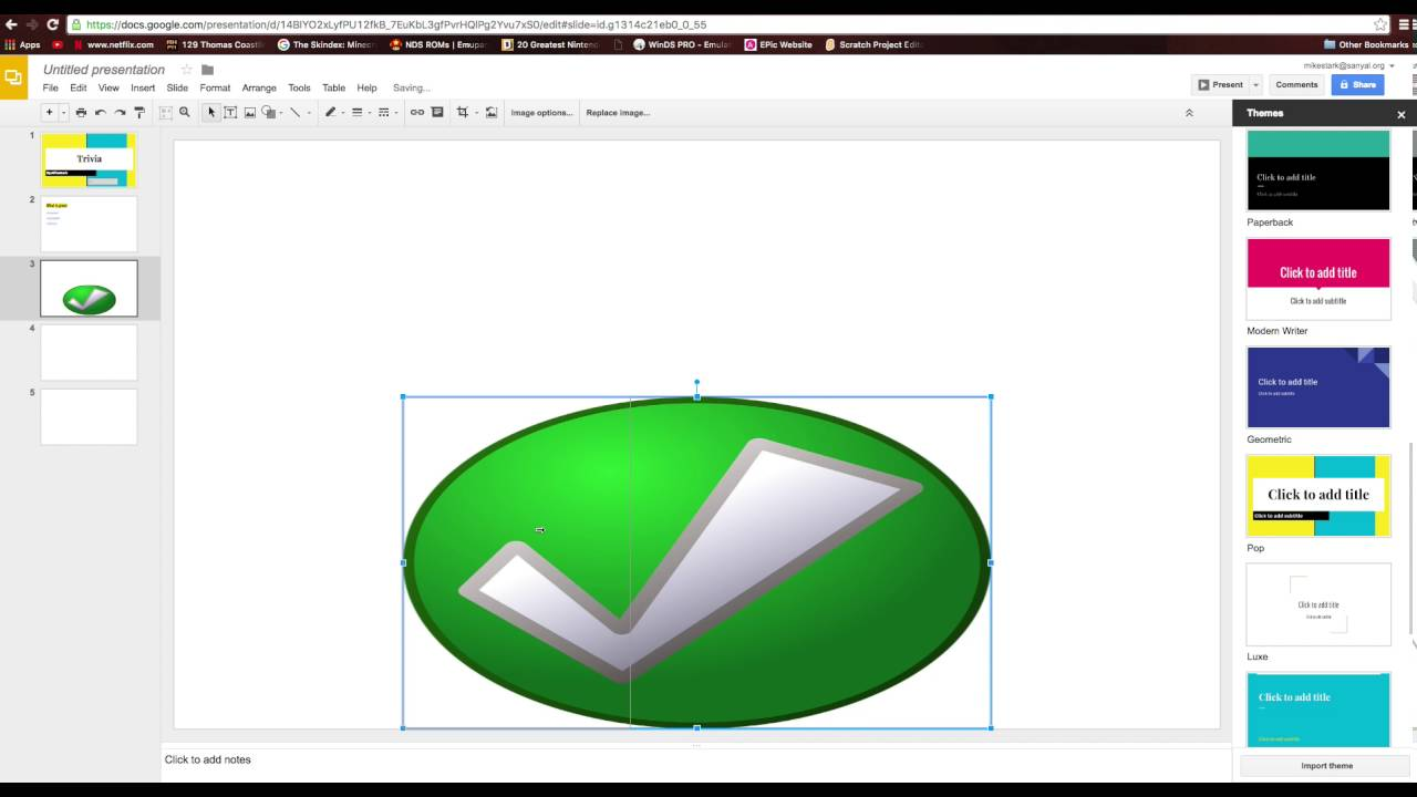 How To Make A Game Using Google Slides