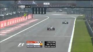 Fernando Alonso brilliantly wins the 2007 Italian Grand Prix