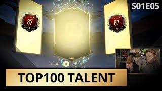 VIERDE KEER TOP 100 VOOR DIT TOPTALENT!! | TOP100 TALENT #5 Jens | KOEN WEIJLAND FIFA19