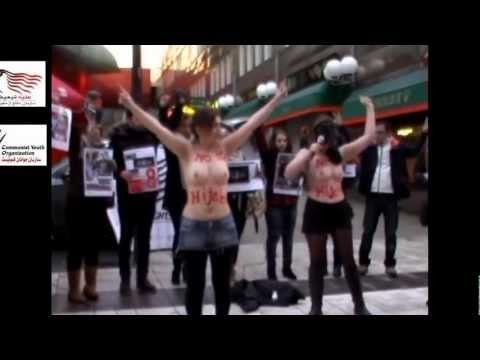 Iranian Women Activists in Sweeden 2march2013-Stockholm