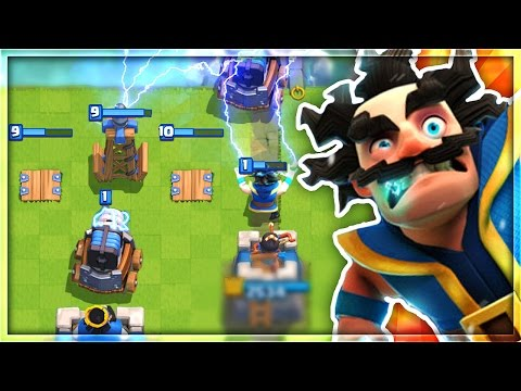 """WHAT HAPPENS IF YOU USE an """"ALL ELECTRIC"""" DECK in Clash Royale!"""