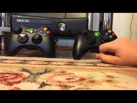 Как подключить второй геймпад к Xbox 360