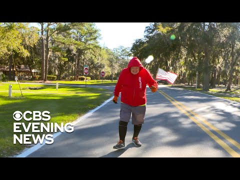 95-Year-Old Badass Embarks on Second Cross-Country Run in 5 Years