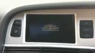 MMi 3G Plus Demo Video Audi A6 4F