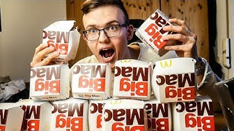 Wie viele MCDONALDS Big Macs kann ich ESSEN🤢🍔 (6000 Kalorien)