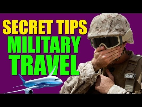 Airport Tips and Flying in the Military