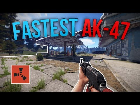 MY FASTEST AK-47 PLAY EVER! | Rust Solo Survival S3 | #5
