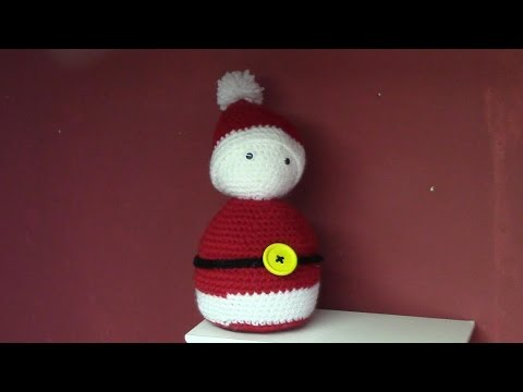 Haken Tutorial 142 Kerstman Youtube