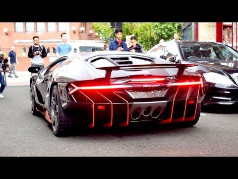 $2.5 Million Lamborghini Centenario CAUSES MADNESS in central London!