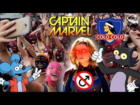 ¿Capitana Marvel = Perro Poochie? + Marcha Por Colo-Colo Feminista