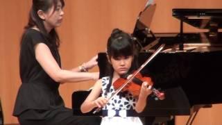 ヴァイオリン:新庄咲良 ピアノ:新庄桃子 2017年7月23日 サンスクエア堺...