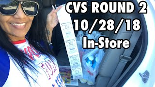 CVS Couponing ROUND #2 MORE DEALS!!! 10/28/18