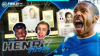 TOBI OPENS THE ICON PACK! (The Henry Theory #23) (FIFA Ultimate Team)