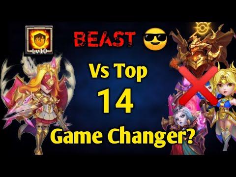 Valiant Saintess Vs Top 14   Rip Dove/Zeph😲😲   Game Changer?   10 FG  10 True Piety   Castle Clash