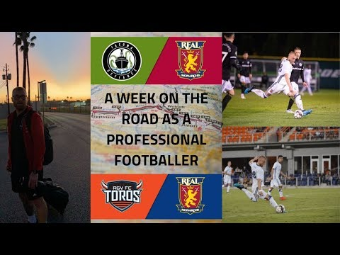 A Week On The Road As A Professional Footballer