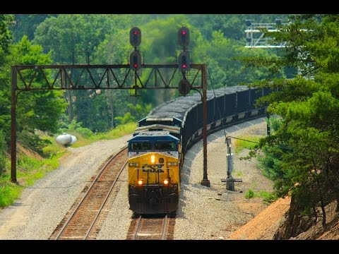 Last stand of the C&O signals: CSX Allegheny Sub. Summer 2014
