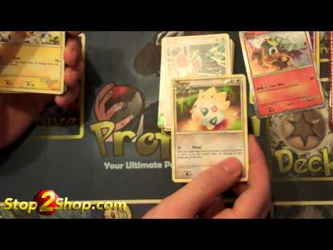 2010 Pokemon Holiday Tin Opening