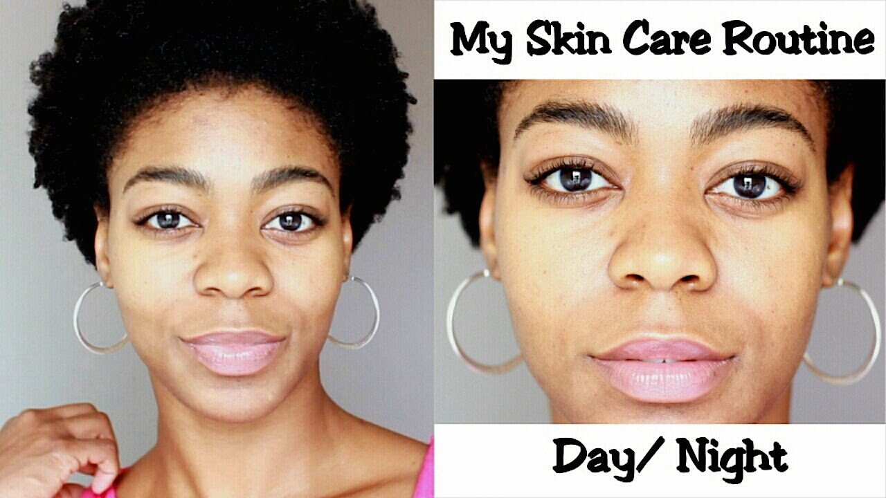 my skin care routine day/night - (oily skin, acne prone