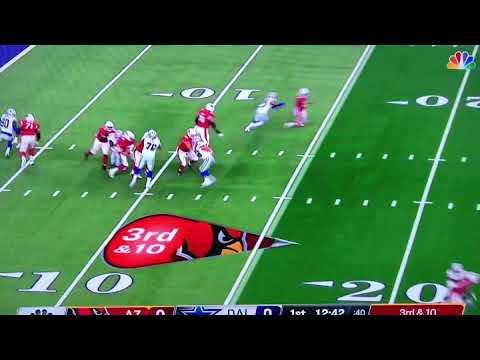 Randy Gregory SACK - Dallas Cowboys vs. Arizona Cardinal Preseason NFL Football