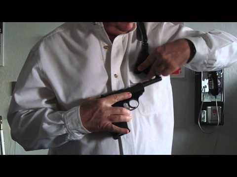 Ken Null SMZ Shoulder holster