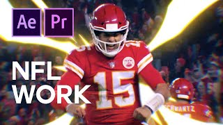 NFL Highlight - Editing and Motion Graphics for Sports