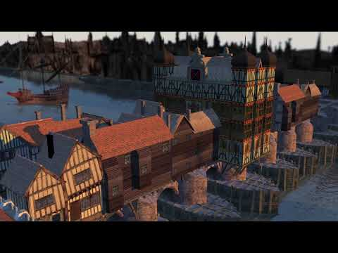 Medieval London Bridge Youtube1080