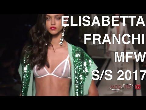 ELISABETTA FRANCHI   SPRING SUMMER 2017  BACKSTAGE-INTERVIEWS-FASHION SHOW   Exclusive By Modeyes TV