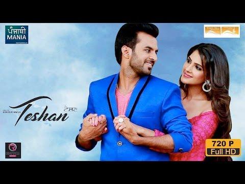 Watch Teshan Full Punjabi Movie Promotions on Punjabi Mania | Happy Raikoti