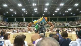 大相撲 渋谷青山学院場所 結びの一番!