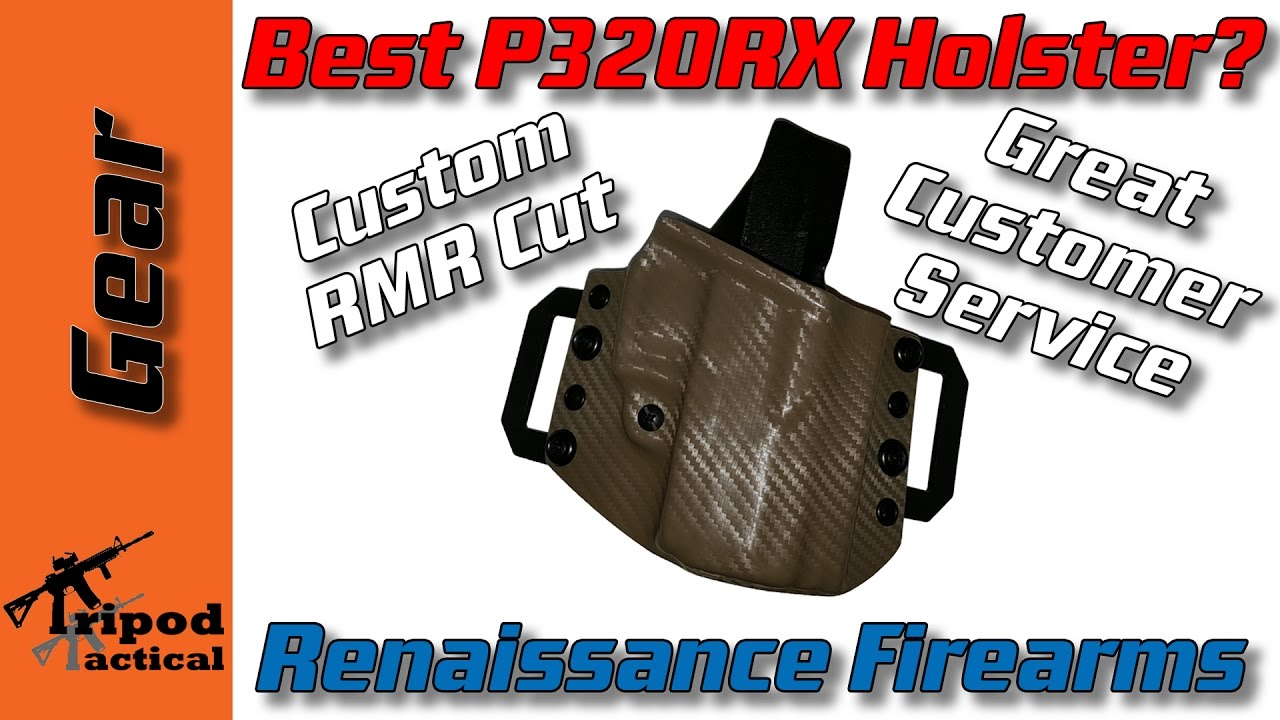 Best OWB Holster for Sig P320C RX? Check out this Holster from Renaissance  Firearms P320RX Compact