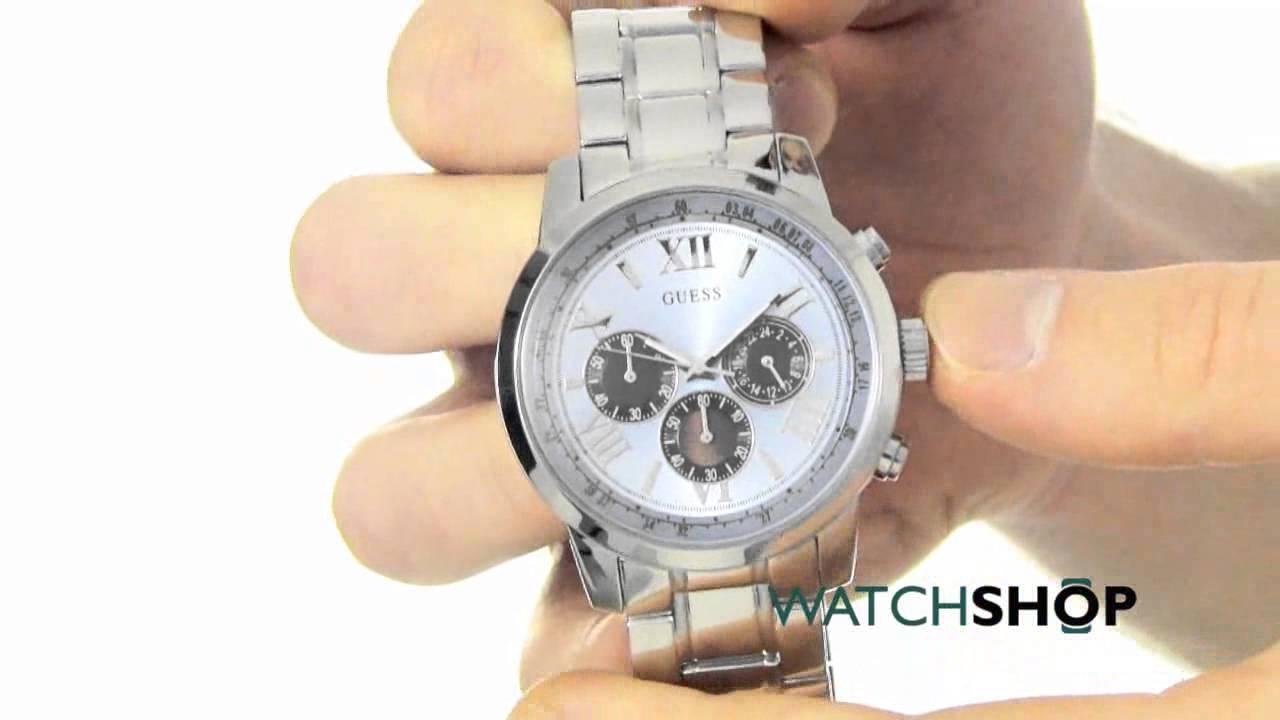 18ff6743c Guess Men's Horizon Watch (W0379G6) - YouTube