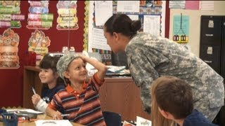 Imperial Valley soldier surprises family with homecoming