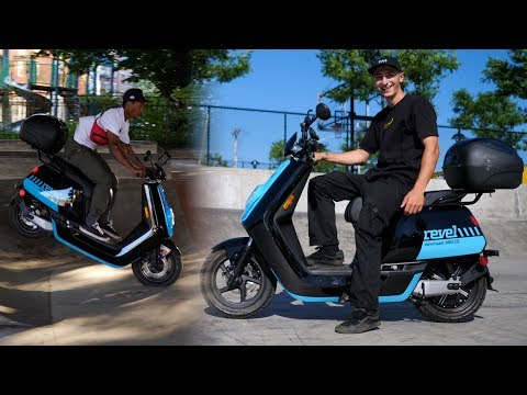 IS THIS ELECTRIC MOPED WORTH 25¢ PER MINUTE? *NYC'S FIRST