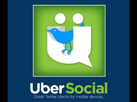 UBERSOCIAL THE  BEST twitter app for Android AND IOS