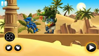 Robots Vs Zombies:Transform To Race And Fight Tinylab Game For Kids