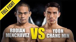 Rodian Menchavez vs. Yoon Chang Min | ONE Full Fight | December 2019
