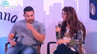 Akshay and Aamir making fun of Twinkle Khanna