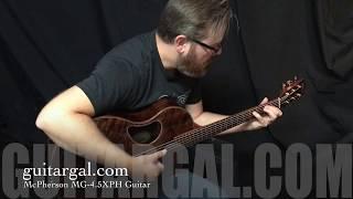 McPherson Flamed Redwood Top Guitar at Guitar Gallery