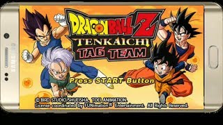 How to Download Dragon ball z Tenkaichi Tag Team Android psp game || Data with Gameplay