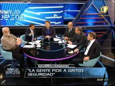 Eduardo Feinmann habló de la pena de muerte en la Argentina