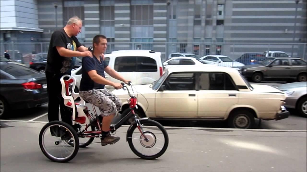 Велосипед с мотором Benelli Navigator - YouTube